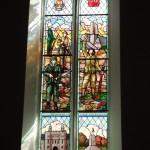 World War I memorial window, Princess of Wales' Own Regiment, 21st Canadian Battalion, in St. Paul's Church