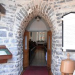 Restored entrance of St. Paul's Church