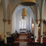 Looking toward the chancel in St. Paul's Church