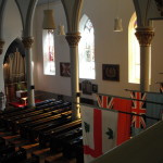 Gallery view looking East in St. Paul's Church