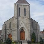 Present day St. Paul's Church