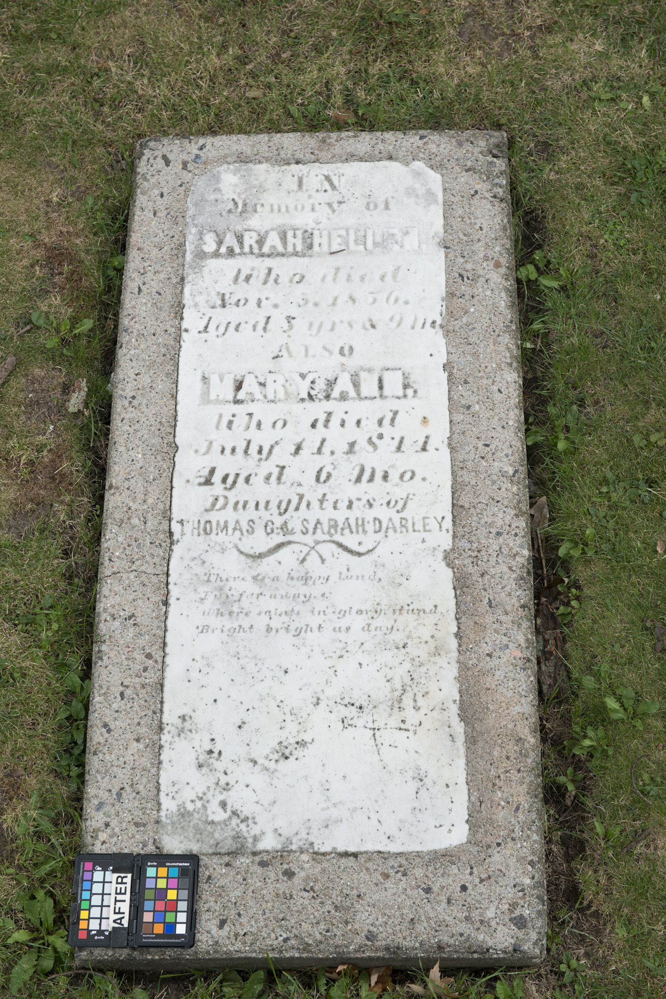 Marker for Mary Ann and Sarah Hellen Darley (Alex Gabov)
